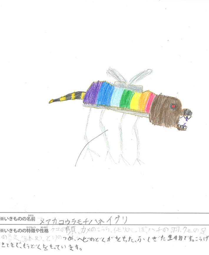メアカコウラモチハネイグリ