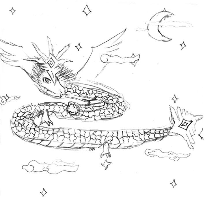 自然竜ジュラシック・シャイン・ドラゴン