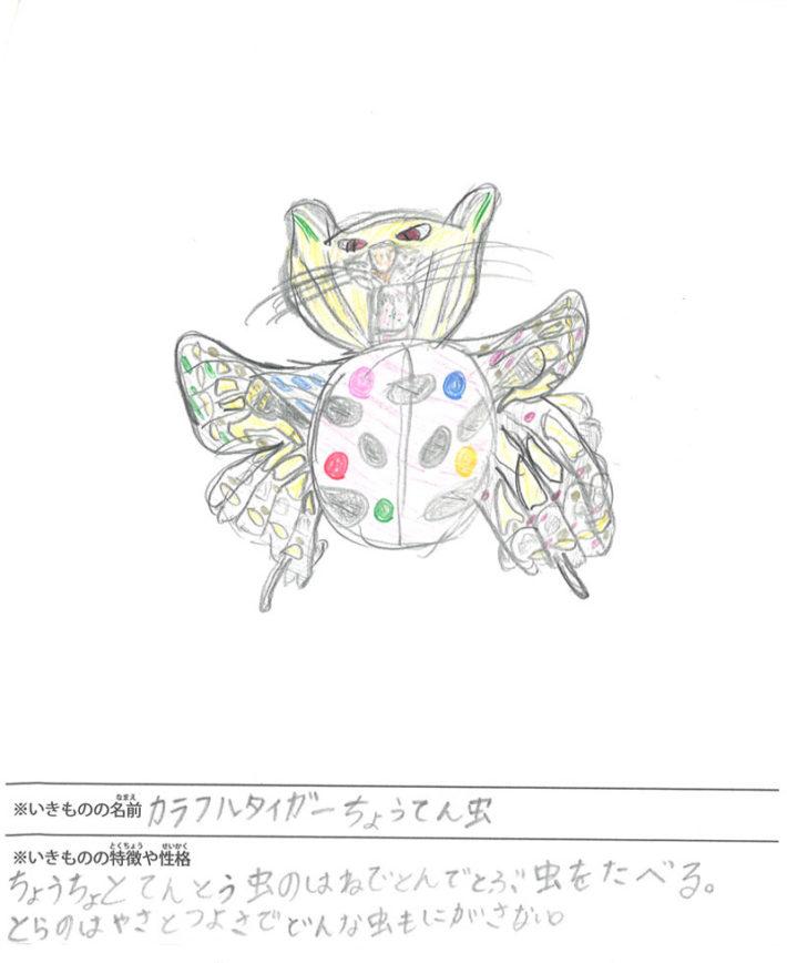 カラフルタイガーちょうてん虫